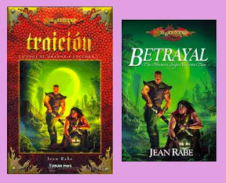 Reseña de la novela de fantasía Traición, de Jean Rabe