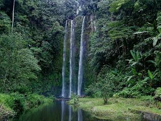 Air Terjun Lematang Indah Palembang