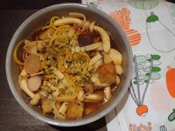 Mushroom Noodle Broth