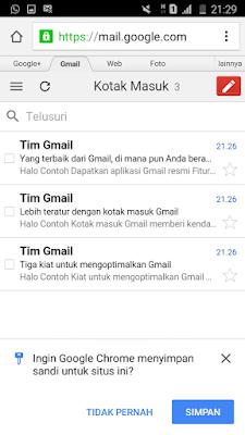 Kotak masuk email gmail