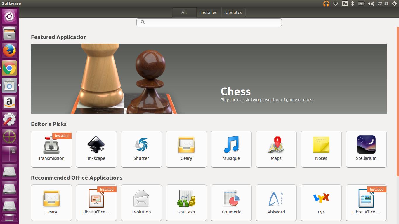 ubuntu software center 16.04 LTS