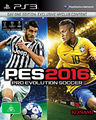 PES 2016 PC Cover