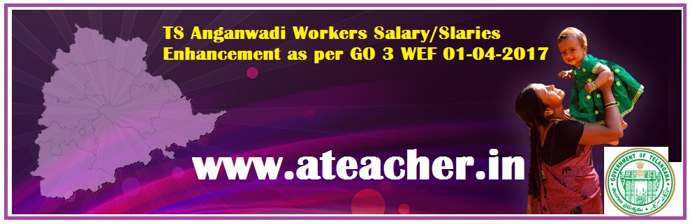 TS Anganwadi Salaries Enhanced GO 3