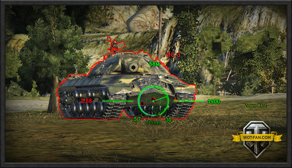 world of tanks speedometer mod