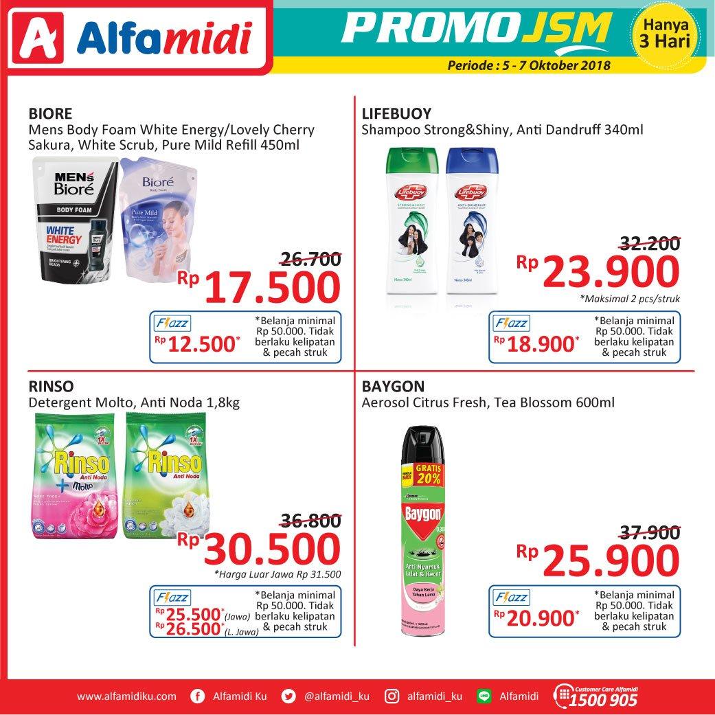 Alfamidi - Promo Katalog JSM Periode 05 - 07 Okt 2018