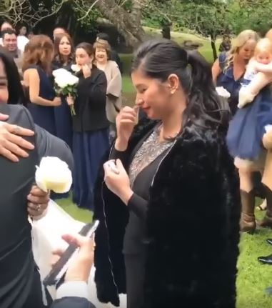 Angel Locsin Hugged and Congratulated Anne Curtis on her Wedding