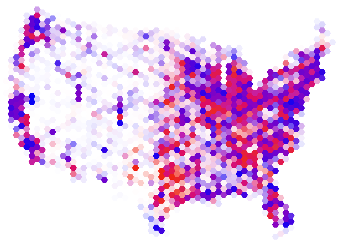 Cartonerd The NYT election map
