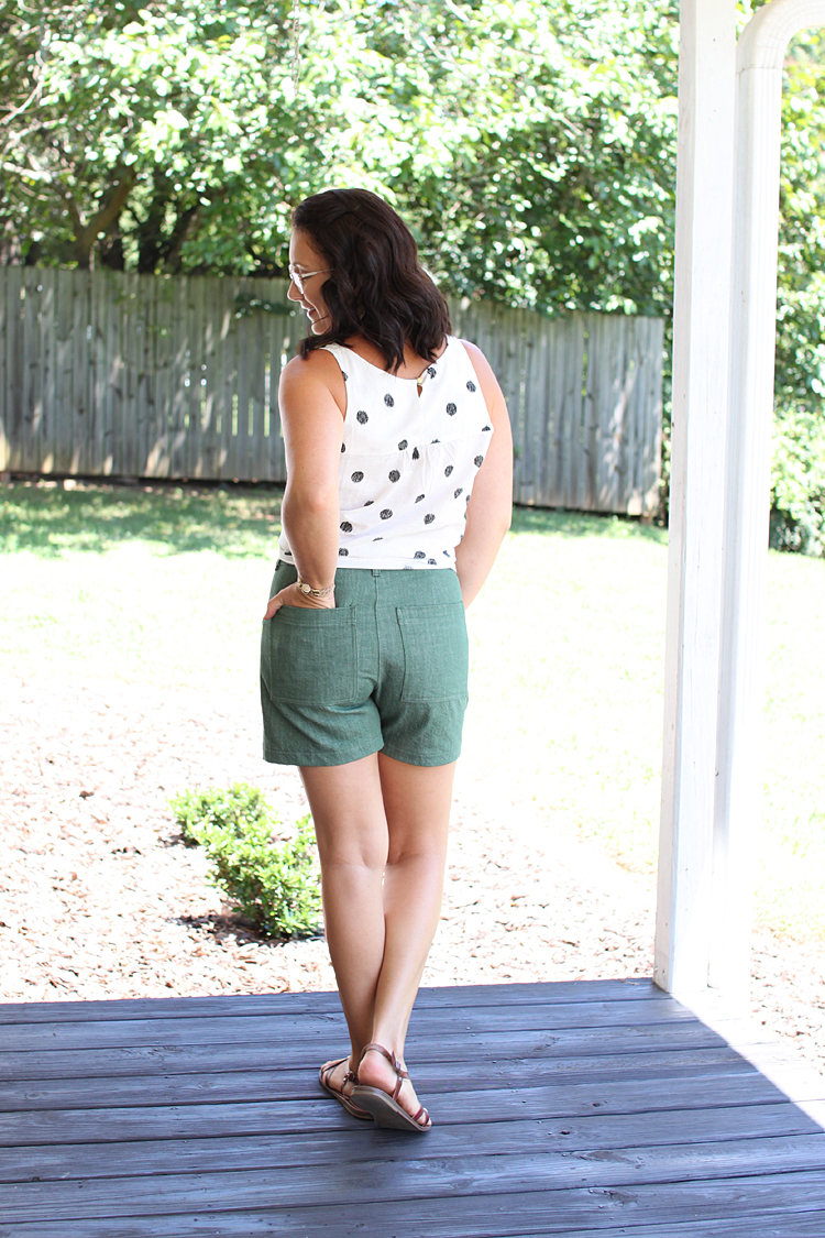 Lander Shorts // Sewing For Women