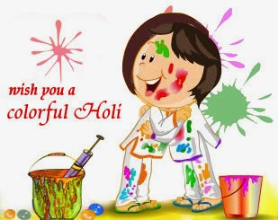 Nature Ka Har Rang - Happy Holi - 2014