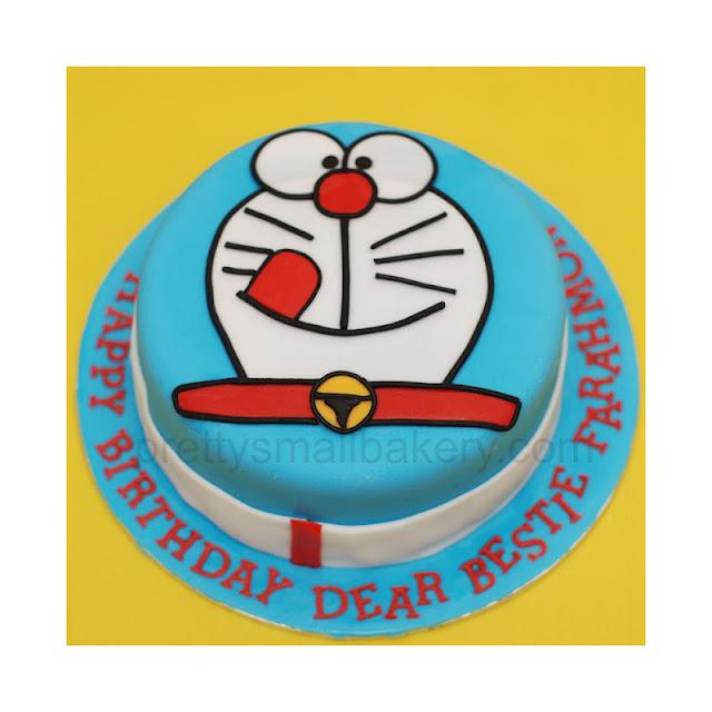 Kek Birthday Doraemon Serdang Selangor Prettysmallbakery