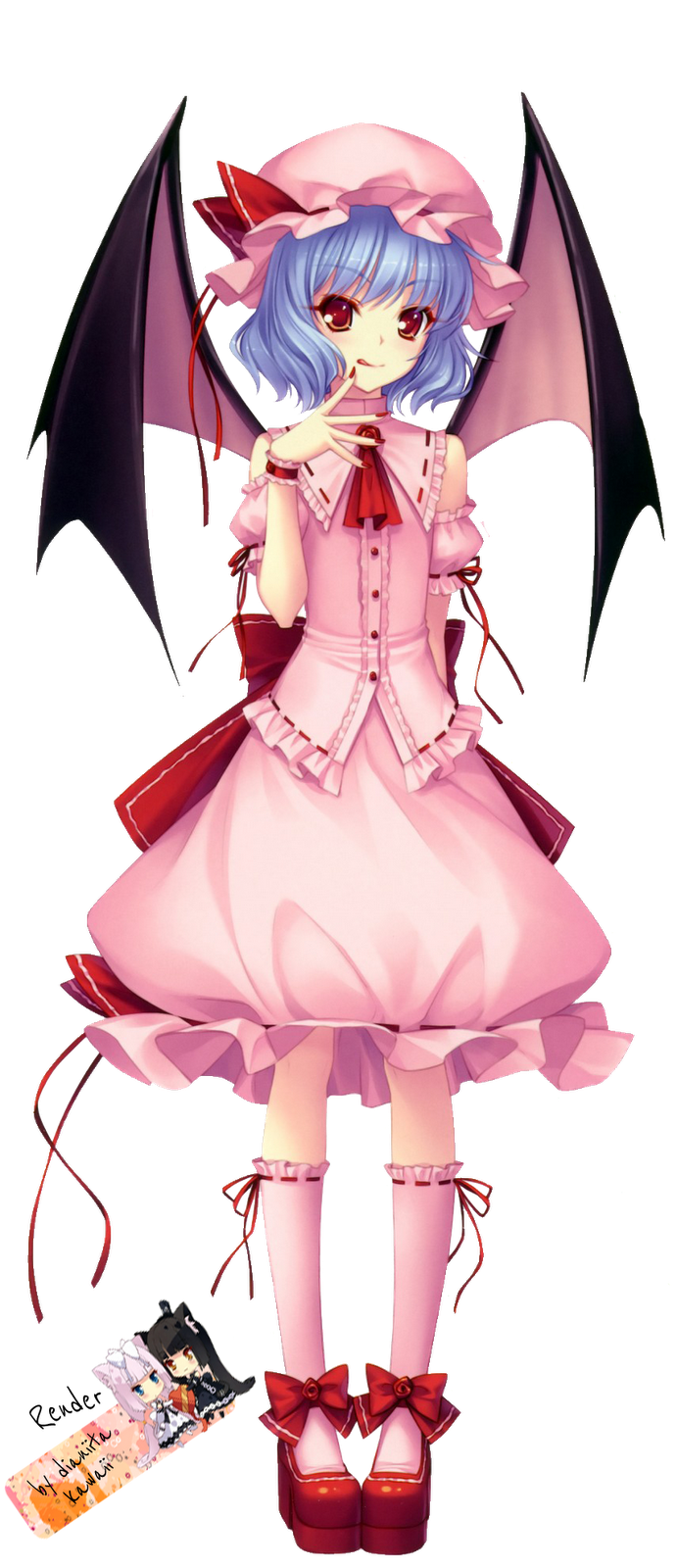 PNG-Remilia Scarlet