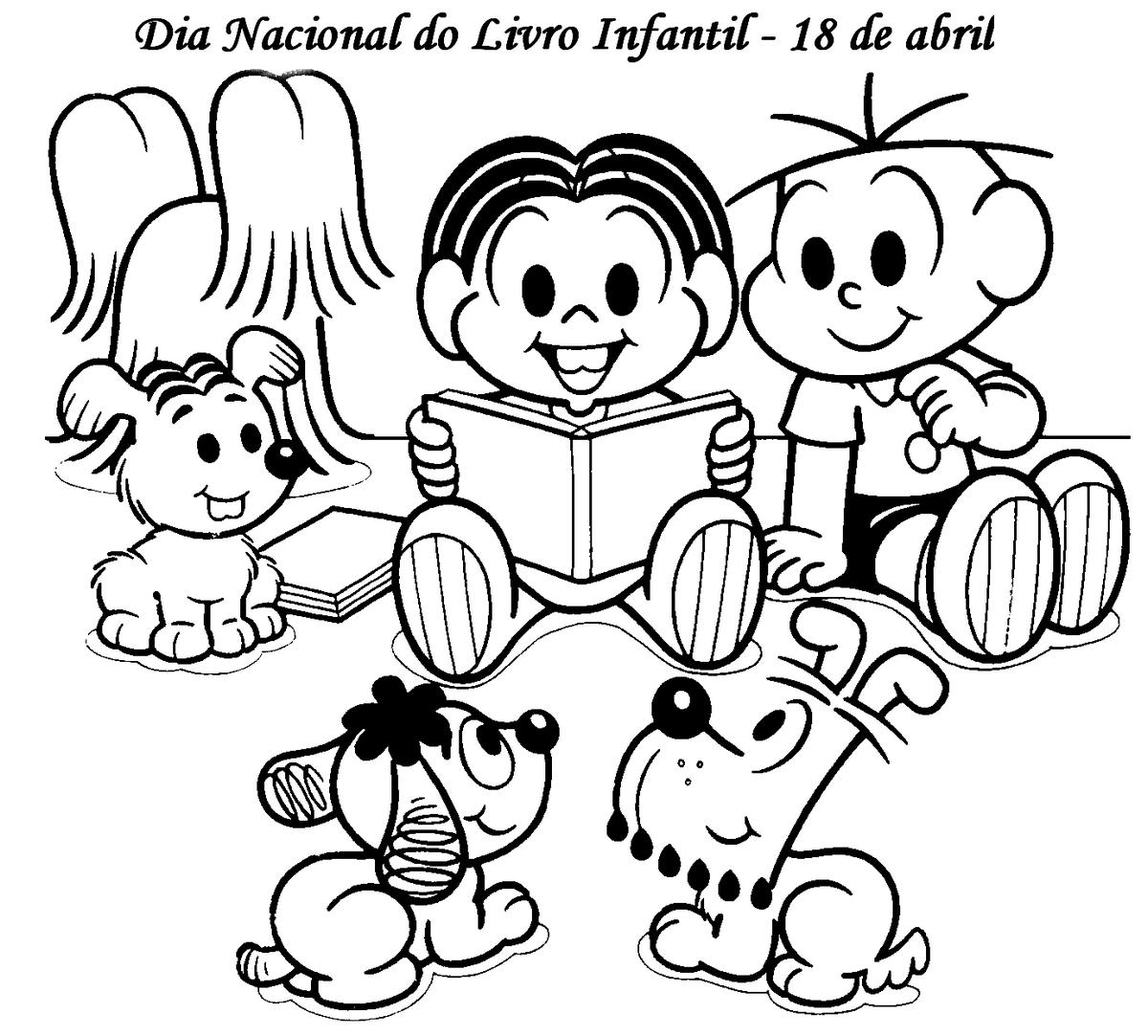 Blog Professor Zezinho Dia Do Livro Desenhos Para Imprimir E