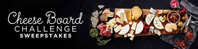 Castello Cheeses wants you to enter each month through the end of the year for a chance to win one of their awesome cheese board kits worth $1000 each!