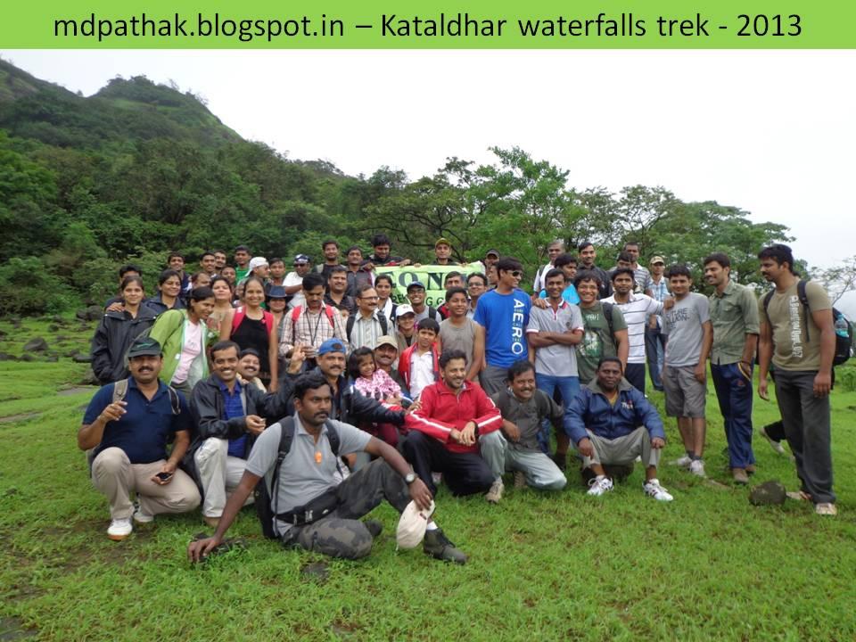 monsoon waterfall trek near Lonavla - Kataldhara waterfalls