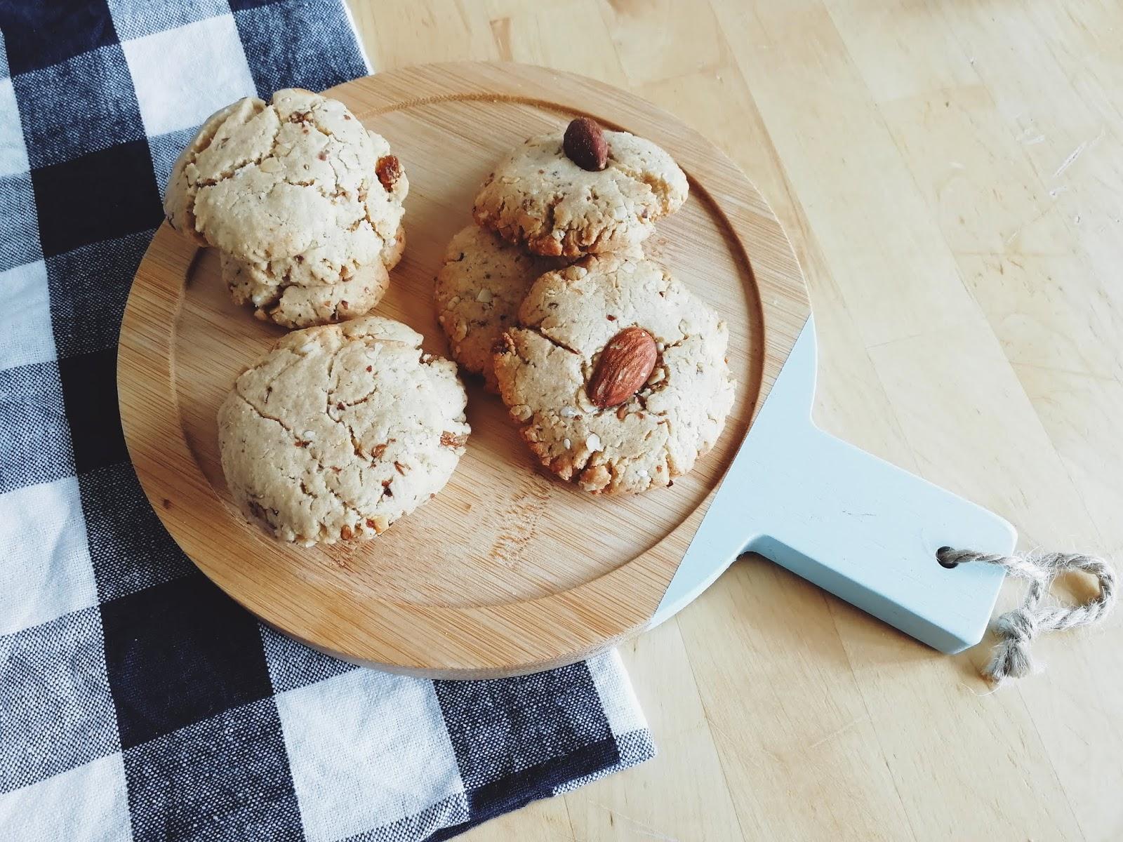 Recette de cookie végétalien au beurre d'oléagineux
