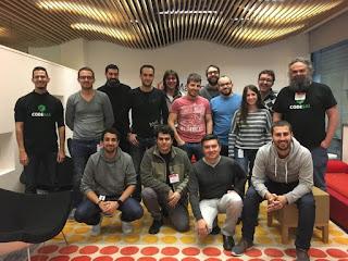 asistentes al curso abierto de TDD en Barcelona