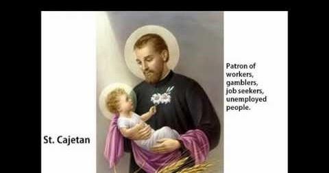 Catholic patron saint of gambling casino in ga