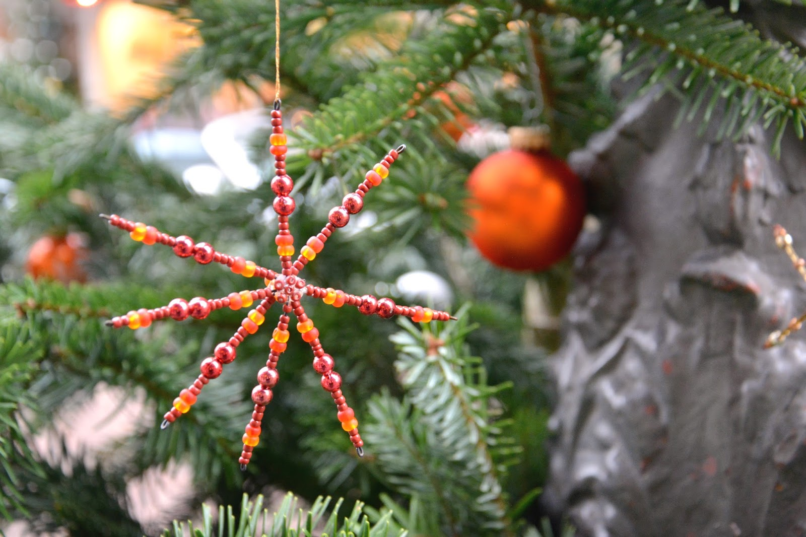 Handmade Decoration in Christmas Tree