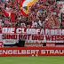 Torcedores do Bayern fazem protesto e pedem uniformes apenas nas cores vermelha e branca