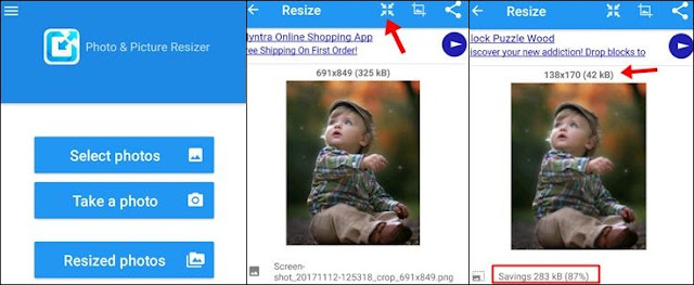 image size reducer app for android