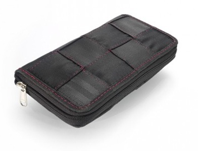 Dompet terbuat dari daur ulang sabuk
