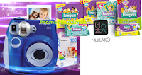 Logo Con Pampers e Mukako vinci set Polaroid Pic 300