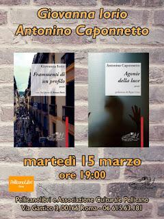 Incontro con Giovanna Iorio e Antonino Caponnetto presso Pellicanolibri