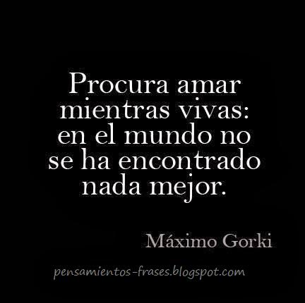 frases de Máximo Gorki