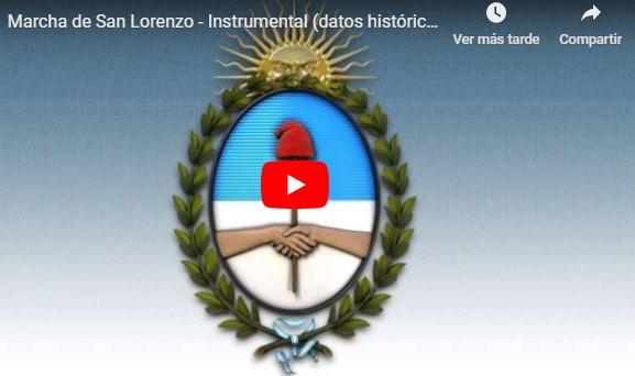 CLIC PARA ESCUCHAR MARCHA DE SAN LORENZO