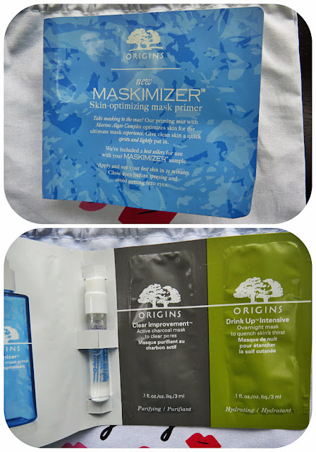 Origins Maskimizer + Drink Up & Clear Improvement Masks