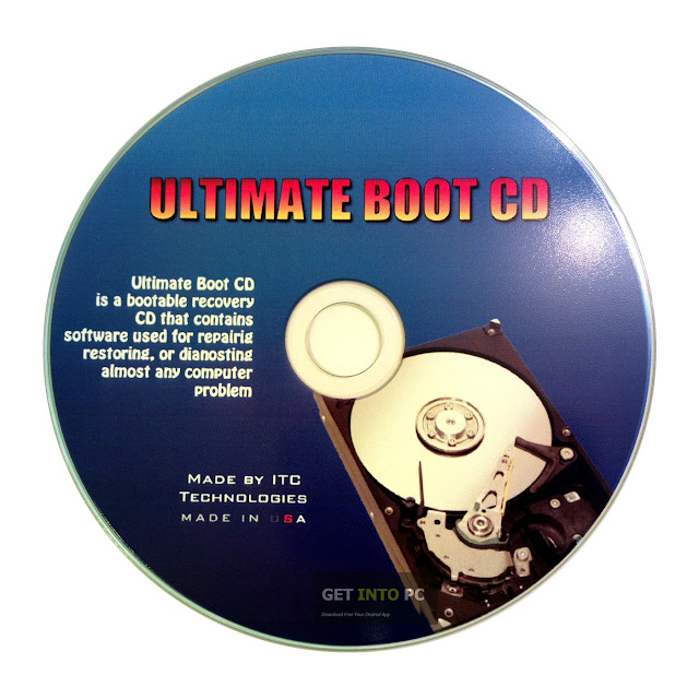 تحميل اسطوانة الصيانة الشهيرة | Ultimate Boot CD 5.3.5 Final