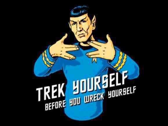 Geek Jokes: Star Trek yourself with Spock