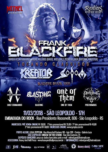 Frank Blackfire: invadindo o RS pela primeira vez!