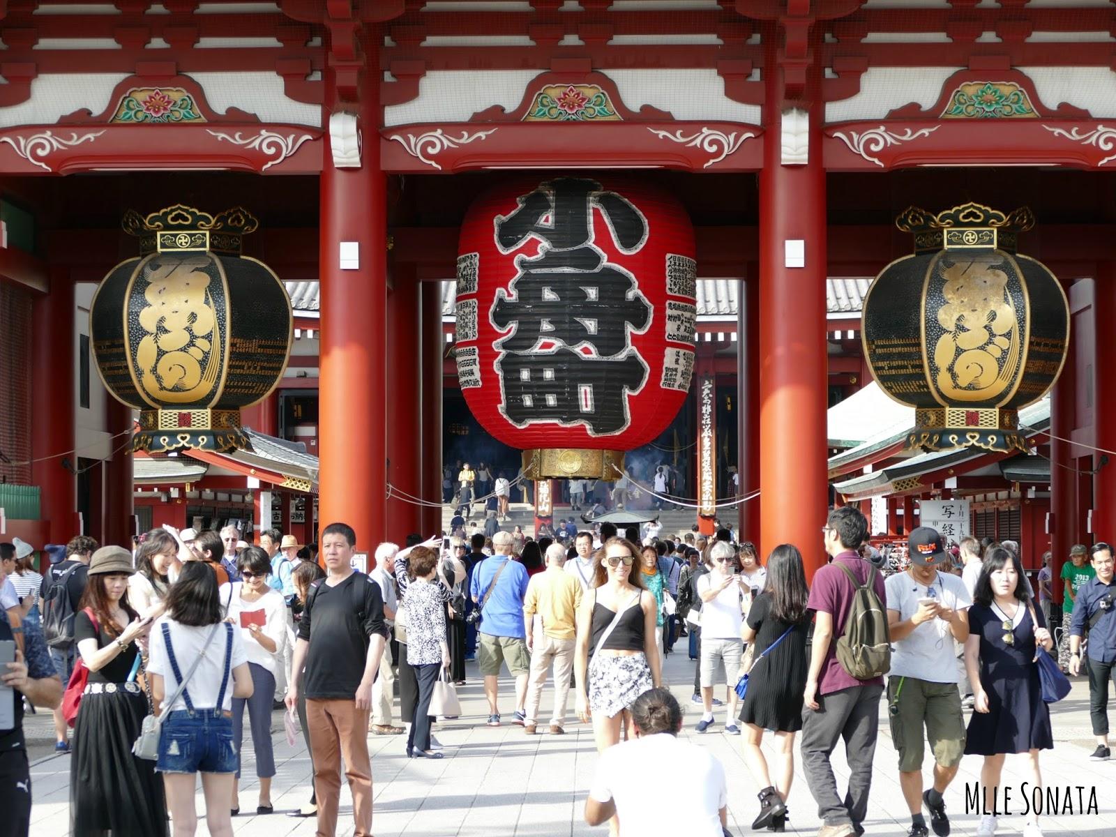 Temple Asakusa à Tokyo.
