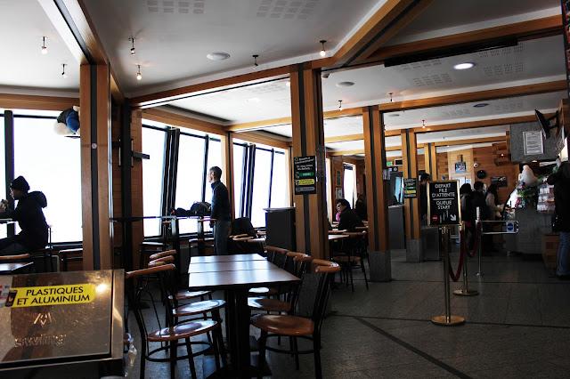Cafétéria - Aiguille du Midi - Chamonix