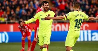 ملخص وأهداف مباراة جيرونا ضد برشلونة فى الدوري الإسباني من هناا