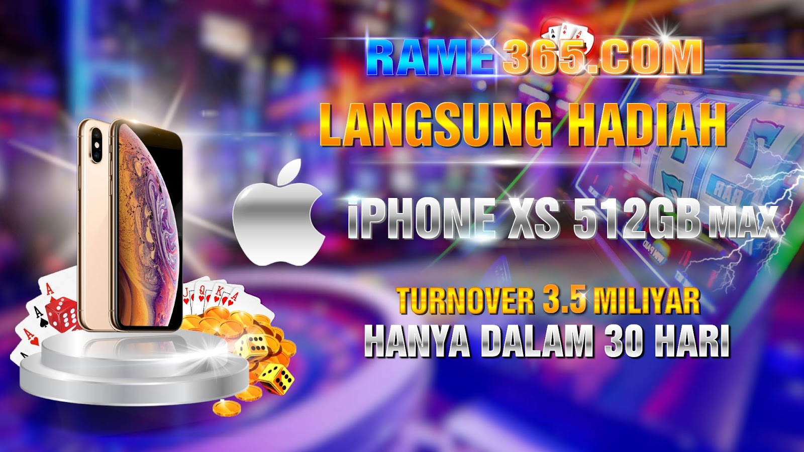 Hadiah IPHONE XS MAX