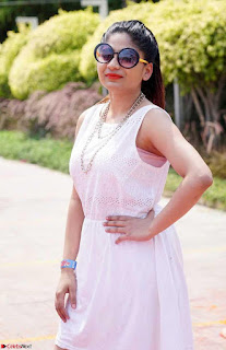 Madhulagna Das Playing Holi Celebrations in white Tank Top 13.jpg