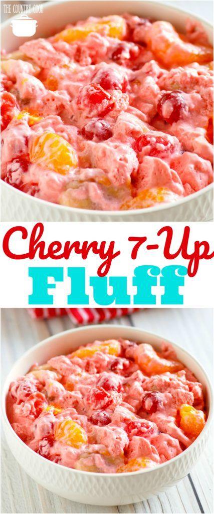 Cherry 7-Up Fluff