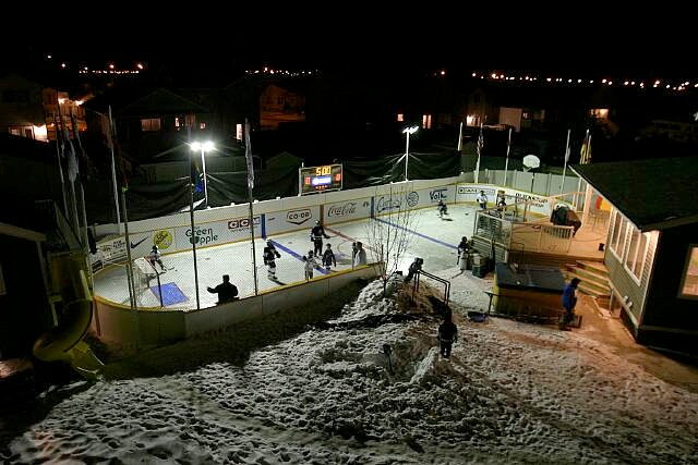 Backyard Ice Rink Lights local big time: best backyard hockey rinks