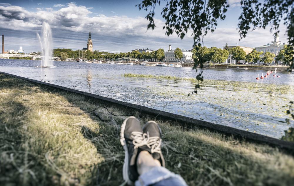 Pori, Visitpori, Rakastuporiin, Porin Kaupunki, matkailu, matkustus, Visualaddict, valokuvaaja, Frida Steiner, kotimaa, suomi, Kirjurinluoto, jokiranta, joki, Kokemäenjoki