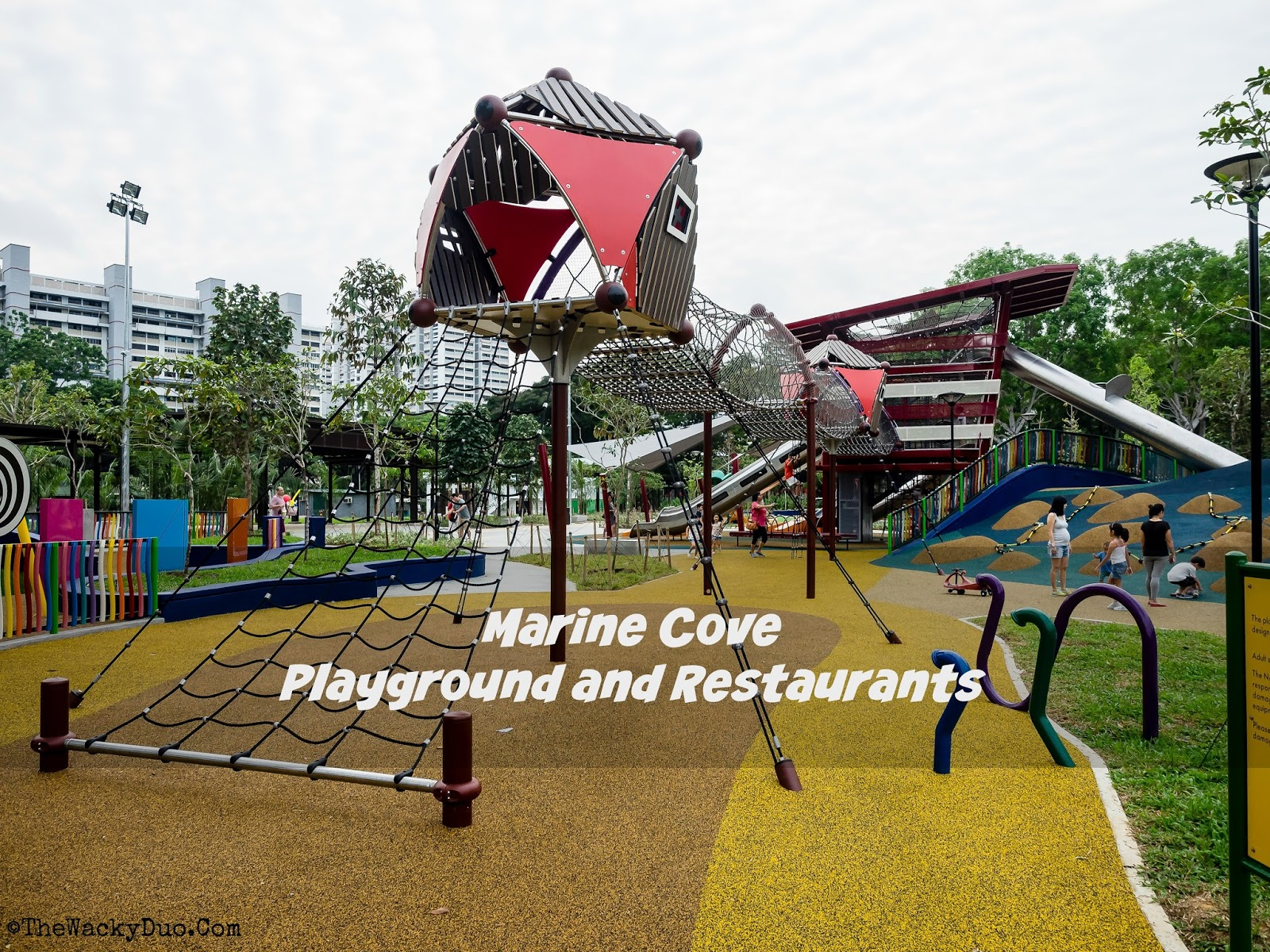 New Marine Cove East Coast Park Playground And Restaurants Guide