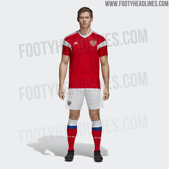 93939e349a2 Russia 2018 World Cup Kit Revealed - Footy Headlines