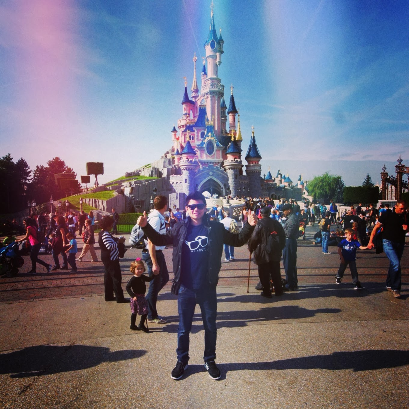 BACK FROM DISNEYLAND PARIS WALT DISNEY STUDIOS!