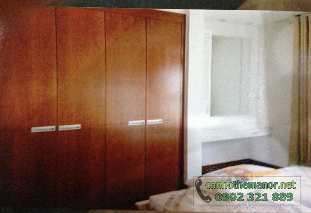 căn hộ cho thuê The Manor 124m2, 3PN - hình 6