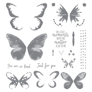 Watercolor Wings Stampin' Up!