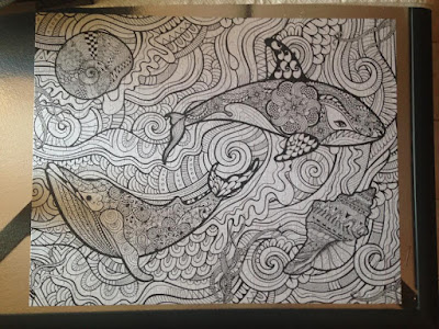 Finished the Colouring In Puzzle