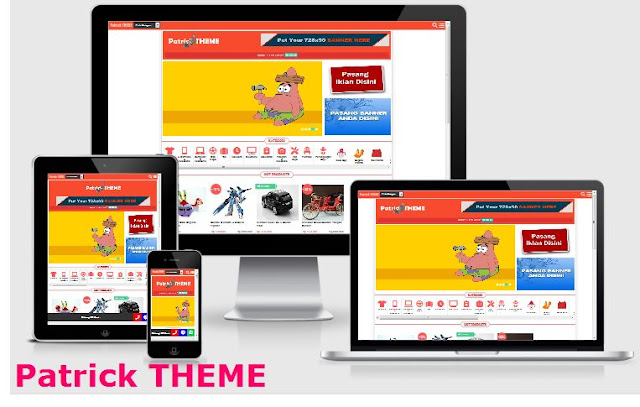 Home Page Patrick Theme