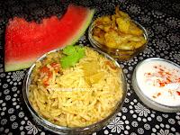 http://www.sailajakitchen.org/2011/09/watermelon-skin-biriyani.html