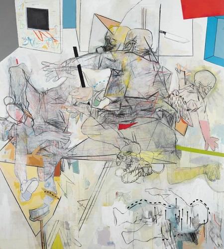 Thameur Mejri, Let me savage in, 2016. | obras de arte abstracto contemporaneo, pinturas abstractas, imagenes | art selecta pictures inspiration